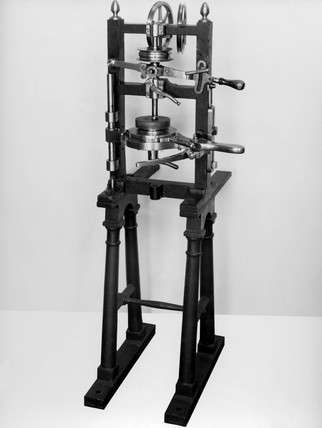 Brunel's coaking machine, c 1804.