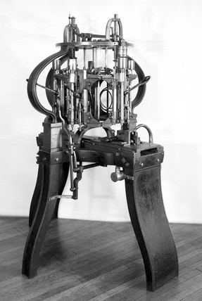 Ames 5-spindle Recesing Machine, 1857.