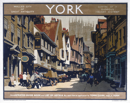 York Lner Poster C 1920s By Taylor Fred At Science