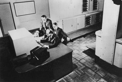 Ferranti Mark I computer, c 1951.