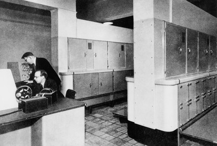 Ferranti Mark I Computer, 1951.
