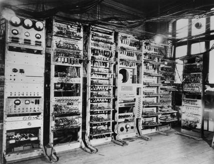Manchester Mark I Computer, 1948.