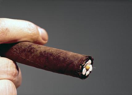 Cigar tip, c 1845.