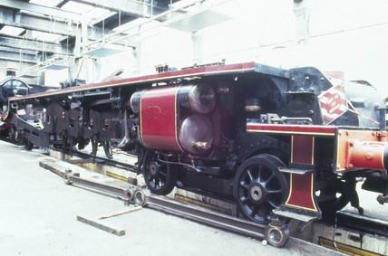 'Duches of Hamilton' steam locomotive, 193
