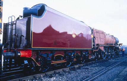 'Duches of Hamilton' 4-6-2 Clas 8P steam