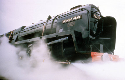 'Evening Star' 2-10-0 Clas 9F steam locomo