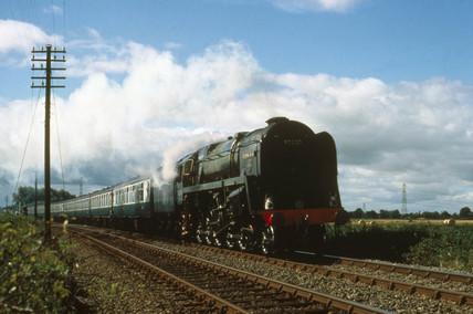 'Evening Star' 2-10-0 Clas 9F steam locomo