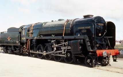 'Evening Star', 2-10-0 Clas 9F steam locomotive No 92220, 1960.