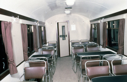 LNER Buffet Car No.9135, 1937. Shown after