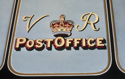 Travelling Post Office, 1885.