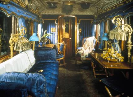 Queen Victoria's royal saloon, 1869.
