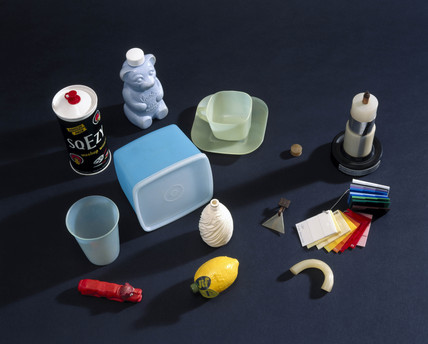 Various objects made of polythene, c 1938-1976.