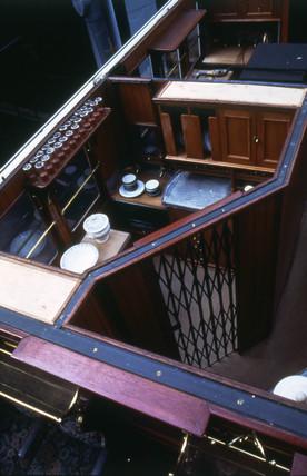 London & North Western Railway Royal dining car, 1903.