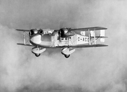Boulton Paul P.71A G-ACOY of Imperial Airwa
