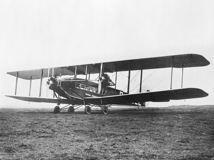 Handley Page W9A Hampstead G-EBLE of Imperial Airways, October 1925,