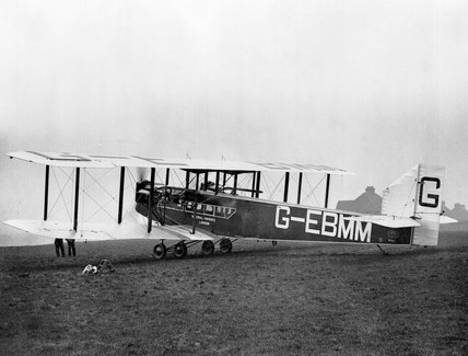 Handley Page W10 G-EBMM of Imperial Airways