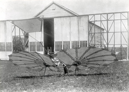 Pilcher's 'Hawk' glider.