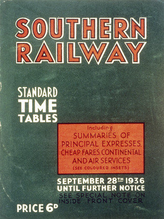 Front cover of 'Southern Railway Standard