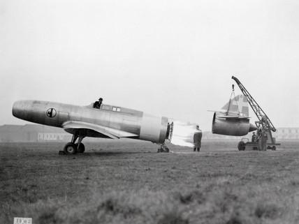 Caproni Campini CC1, c 1940s.