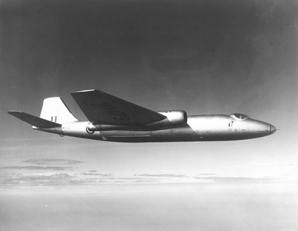 Canberra prototype MK PR9 WH793.