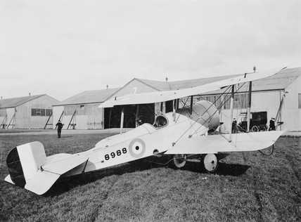 Bristol Scout type aircraft D 8988.