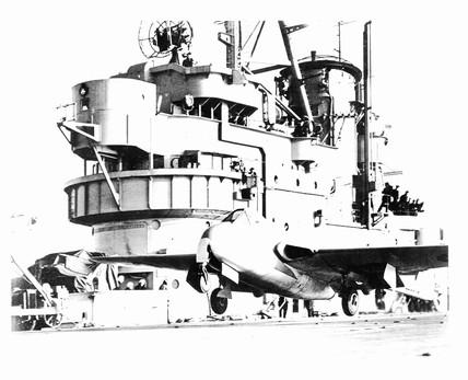 De Havilland Vampire prototype L2551/G alig