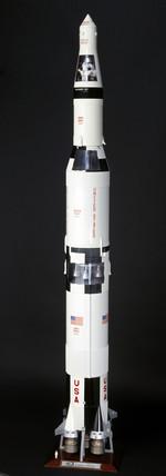 Saturn V rocket, 1967.