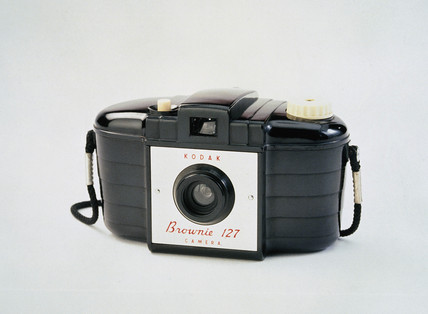 Kodak Brownie 127 camera, 1952-1959.