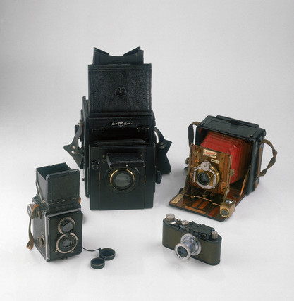 Popular cameras of the 1920s and 1930s.