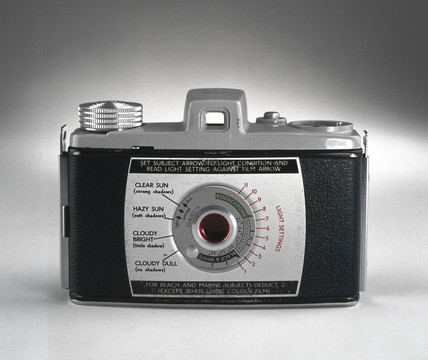 Kodak Bantam Colorsnap camera, 1955-1959.