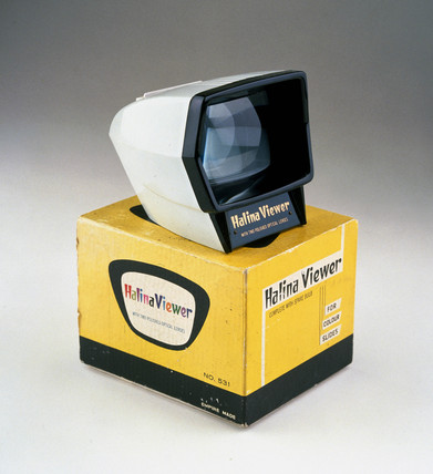 Halina slide viewer, c 1960.