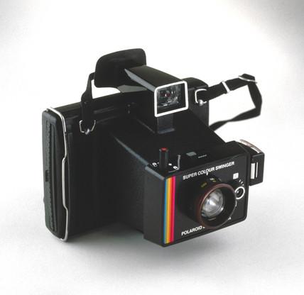 Polaroid instant camera, 1962.