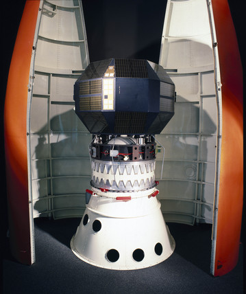 Prospero satellite flight spare on its Black Arrow third stage motor, 2000