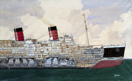 TS 'Queen Mary', 1934.
