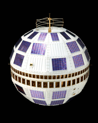 Telstar 1 satellite, 1962.