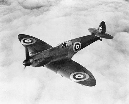 Vickers-Supermarine MK I Spitfire No K9796, 1939.