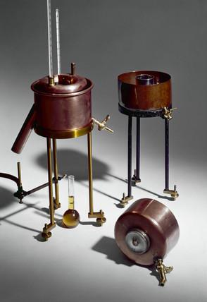 Three viscometers, 1885-1911.