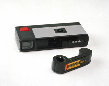 Kodak Pocket Instamatic camera and film, 1972.