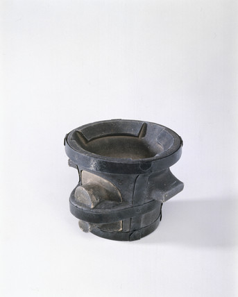 Clay charcoal furnace, c1650-1750.