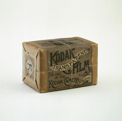 Original Kodak film pack, c 1890.