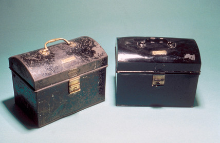 Enginemen's boxes, 1930-1960.