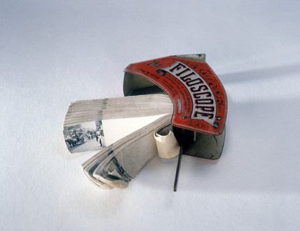 Filoscope, with printed kinetic subject and numbered picture sheets, 1897.