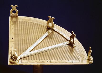 Surveying quadrant, 1674.
