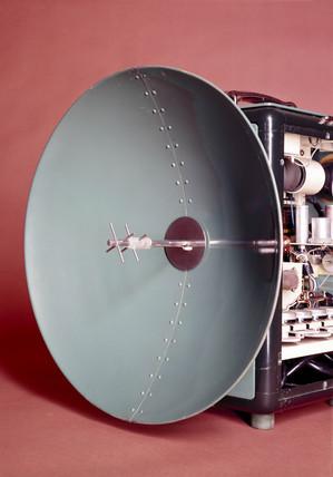 MRA 1 tellurometer set, c 1960.