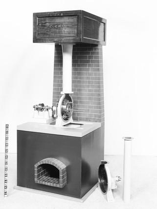 Vortex Turbine. Workable model (scale 1:6).