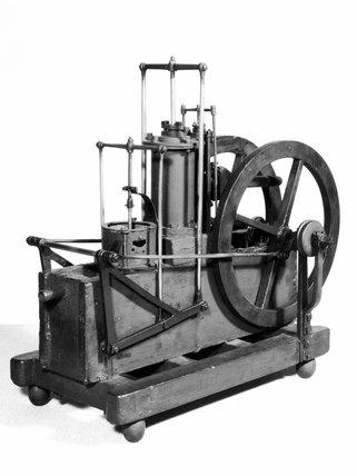Boulton & Watt bell crank engine, late 18th century.