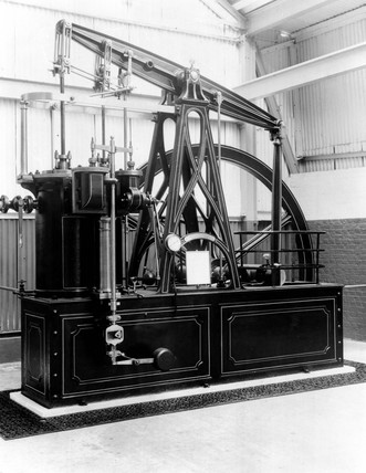 Rotative compound beam engine, 1838.