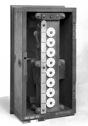 Watt's Engine Counter, 18th century.