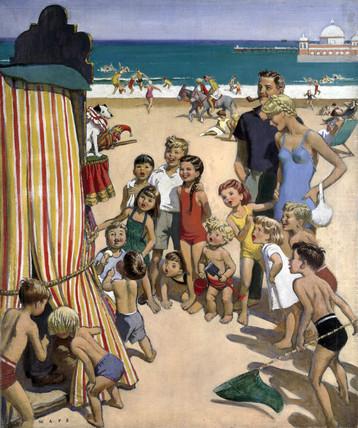 Sunny Rhyl - The Children's Paradise, 1950.