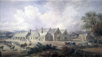 Richmond Station, North Yorkshire, 1846.